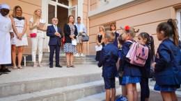 Primo Giorno di Scuola per 5745 Alunni nel Principato