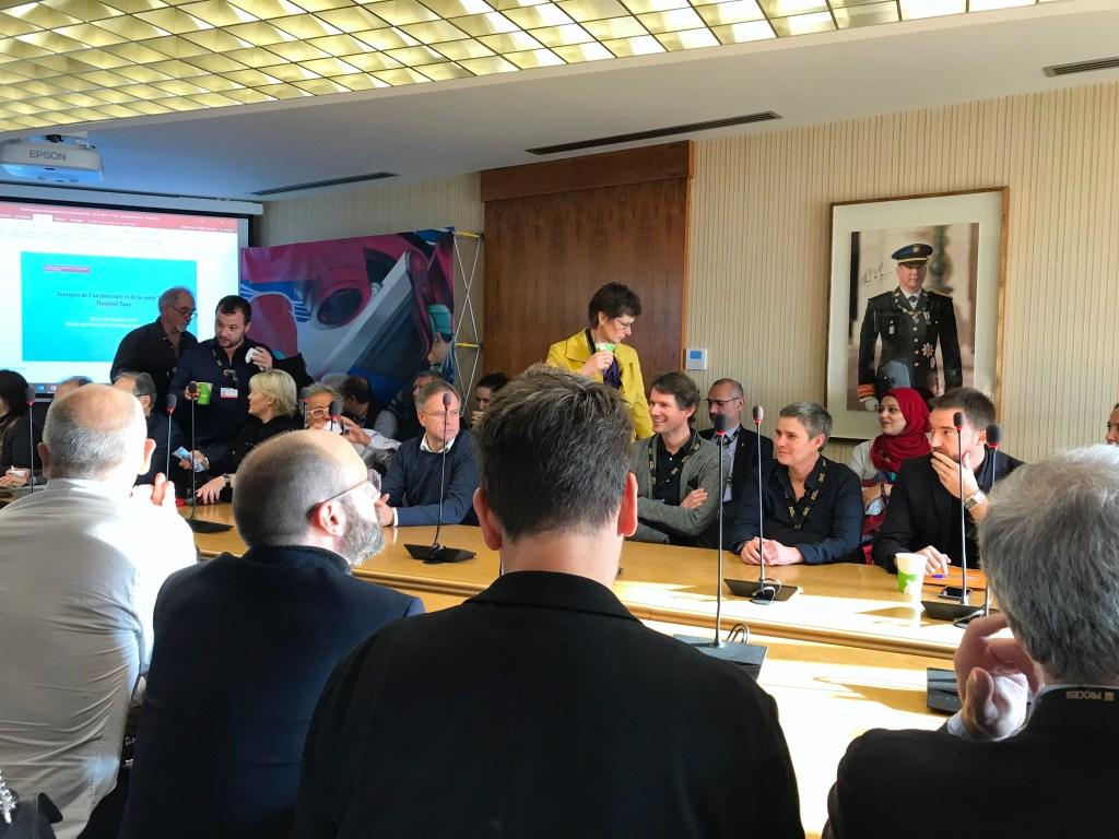 Nuovo Ospedale di Monaco: il Punto sui Lavori durante la Visita di una Delegazione di Architetti