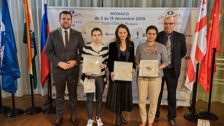 La Russa Alexandra Kosteniuk vince il Grand Prix Femminile di Scacchi a Monte Carlo