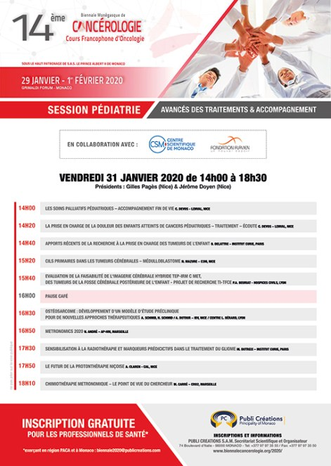 Biennale Cancerologia 2020