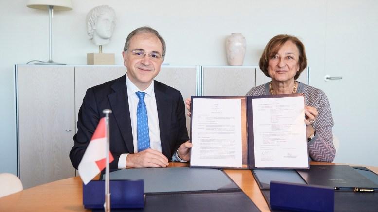 Firma dell'Accordo di Cooperazione Biennale tra Monaco e il Consiglio d'Europa