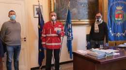 Bordighera: Il Fondo di Solidarietà della Giunta Comunale alla Croce Rossa