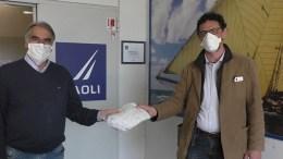 Coronavirus: 1000 Mascherine in Dono a Bordighera