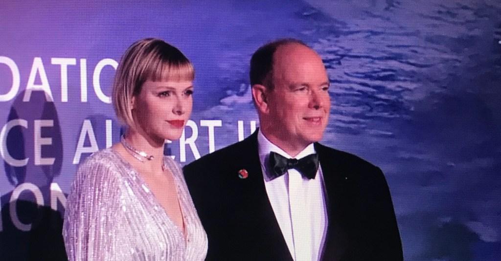 Alberto e Charlene al Monte Carlo Gala for Planetary Health