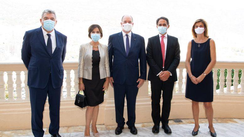 L'Ambasciatore d'Italia Ricevuto dal Ministro di Stato