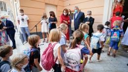 Rientro a Scuola nel Principato di Monaco in Presenza di Pierre Dartout