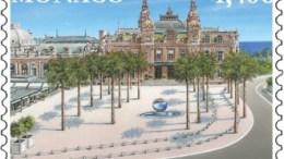 Un Francobollo per Celebrare la Nuova Piazza del Casinò di Monte Carlo