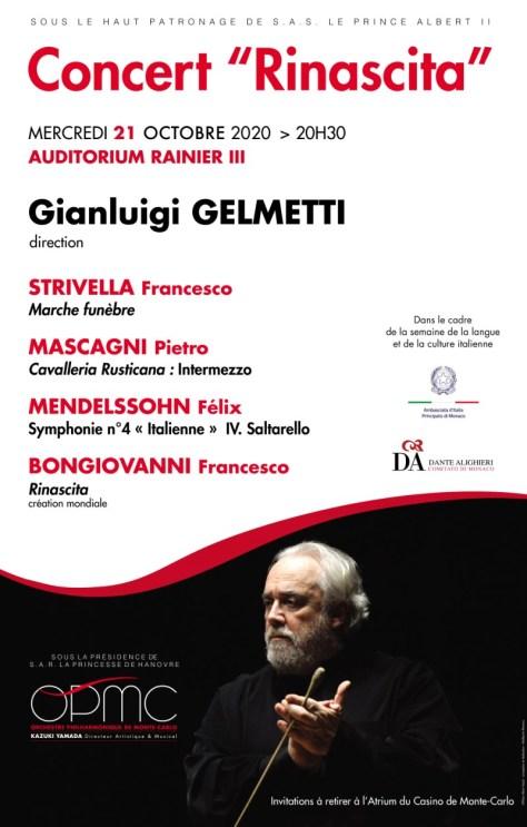 Concerto Rinascita A Monte Carlo