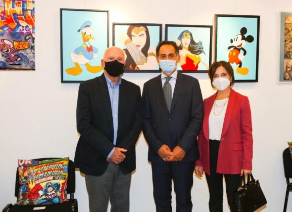 Biancaneve e gli Eroi dei Fumetti nel Principato di Monaco per la Settimana della Lingua Italiana nel Mondo
