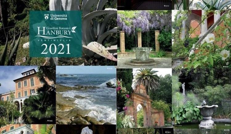 Calendario Giardini Botanici Hanbury 2021