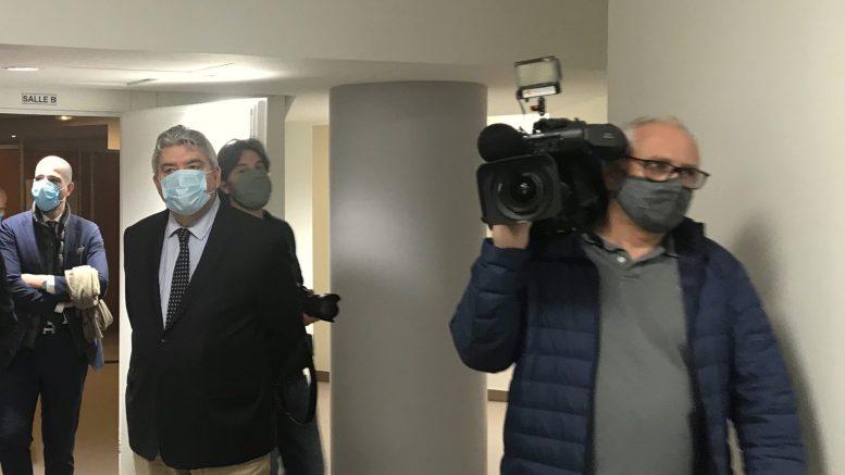 Coronavirus: Visita del Ministro di Stato di Monaco al Centro di Monitoraggio dei Pazienti a Domicilio