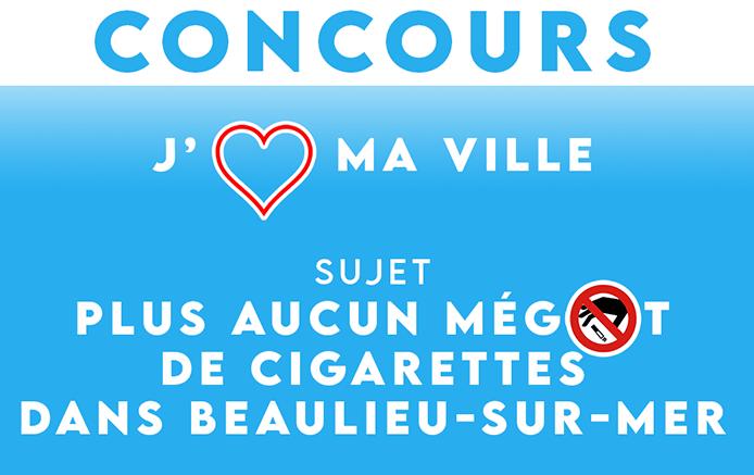 Niente Più Mozziconi di Sigaretta a Beaulieu-sur-Mer