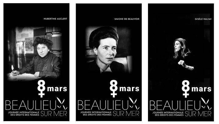 Ritratti di Donne a Beaulieu sul Mer per Celebrare l'8 Marzo