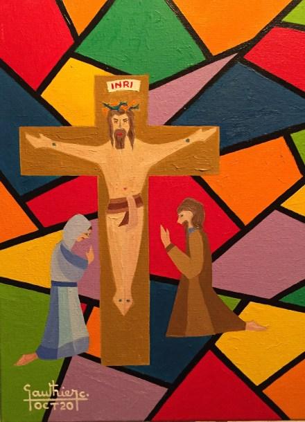 La Via Crucis Vista Da Claude Gauthier