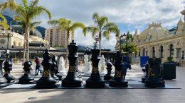 La Scacchiera nella Piazza del Casinò di Monte Carlo