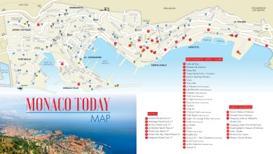 Photo of Monaco Map