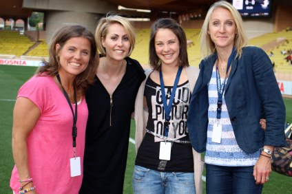 Penilla Wiberg, Victoria, Elena Runggaldier and Paula Jane Radcliffe