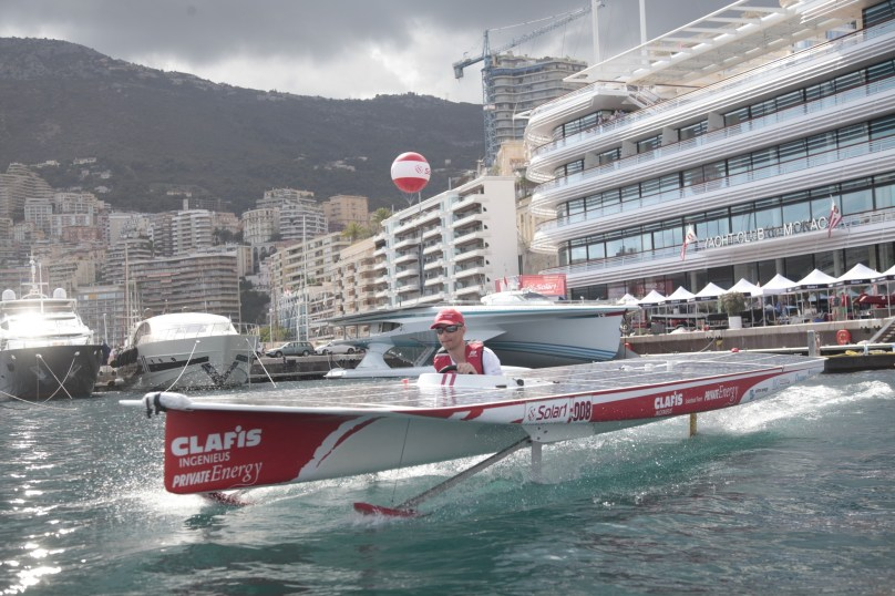 Clafis Private Energy Solar Boat Team @Franck Terlin