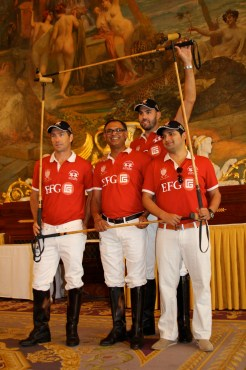 EFG polo team @CelinaLafuentedeLavotha