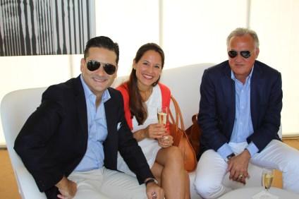 Martin and Lorena Constanzo (EFG Bank) & Zsolt @CelinaLafuenteDeLavotha