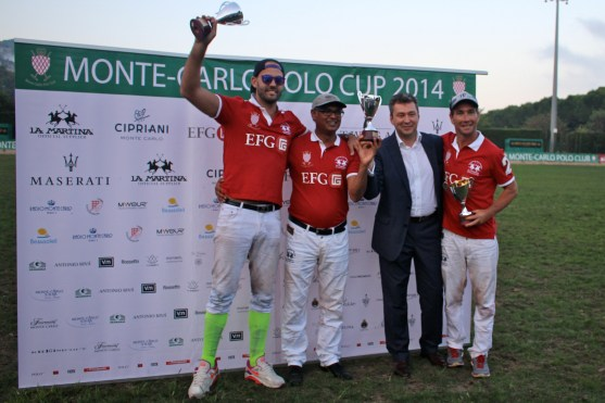 4th - The EFG sponsored team came 4th @CelinaLafuenteDeLavotha