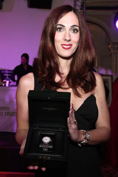 Lady Royal Oak watch donated by Audemars Piguet for the charity auction