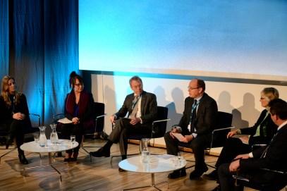 Nina Jensen, Line Miriam Sandberg, Jens Ultveit Moe, HSH Prince Albert, Fran Ulmer, Kjell Giaever @Pernille Ingebrigtsen Arctic Frontiers 2015