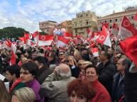 Monegasques waving their flags @CelinaLafuenteDeLavotha