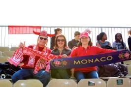 The die-hard Monaco fans @CelinaLafuenteDeLavotha