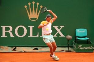 Rafa Nadal played an exhibition game with Marin Cilic @CelinaLafuenteDeLavotha