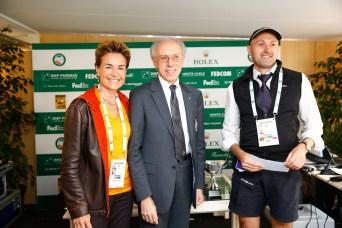 Sebastien Darasse, Alain Manigley and Celina Lafuente de Lavotha - Press Photo Contest 2014 Apr 19, 2015 @Philippe Fitte