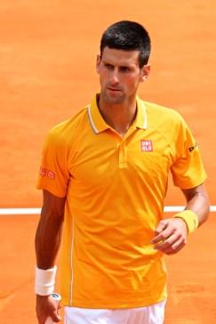 Serb Novak Djokovic Apr 18, 2015 @CelinaLafuenteDeLavotha