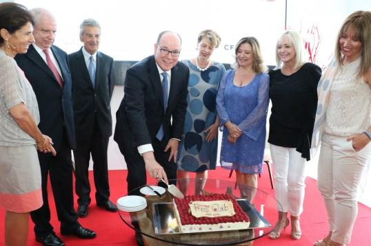 Monaco Press Club celebrating its 15th anniversary with Prince Albert @WSW