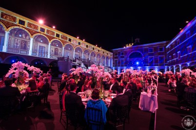 A view of the Palace Honor courtyard during the Gala @Eric Mathon_7750