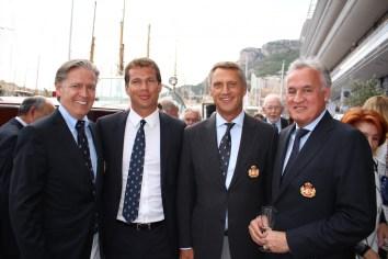 Joe Strautmann, Antoine Narmino, Philippe Narmino and Zsolt Lavotha members of the YCM @CelinaLafuenteDeLavotha