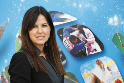 Amparo Di Fede, CEO of Sportel @SportelMonaco 2015 Photos