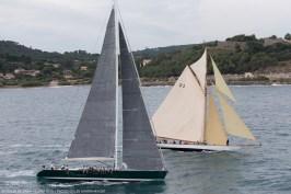 Genie and Tuiga (D3) 01/10/2025, Saint-Tropez (FRA,83) , Voiles de Saint-Tropez 2015, Day 4 @Gilles Martin-Raget