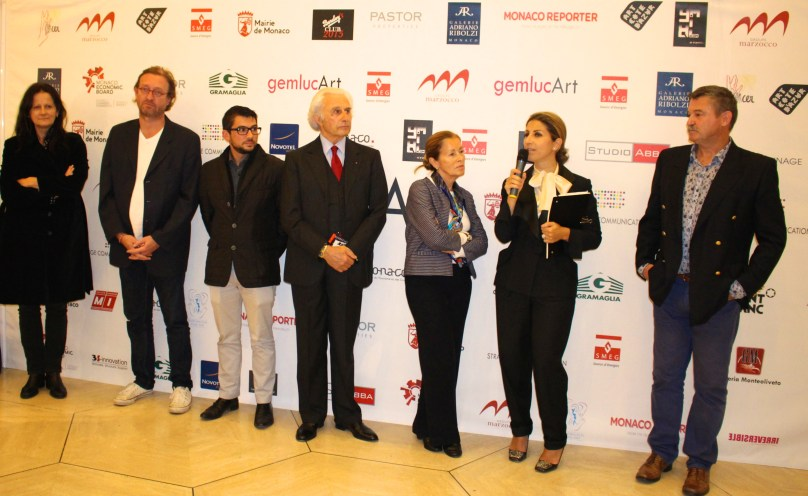 Michele Beddington, Guillaume Barclay, Franck Michel, Adriano Ribolzi, Beatrice Brych, Laurence Garbatini and Yvon Kergal @CelinaLafuenteDeLavotha