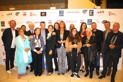 Organizers, members of the Jury and the award winners of GemlucArt 2015 @CelinaLafuenteDeLavotha