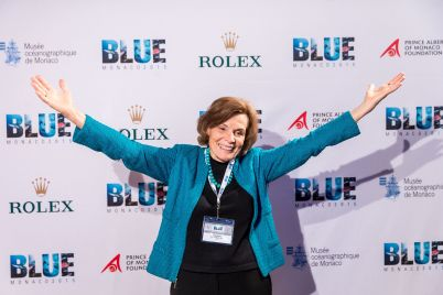Sylvia Earle at Blue 2015 Monaco