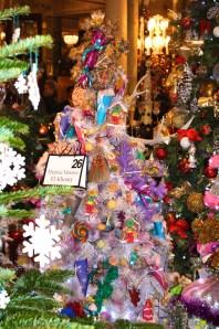 Christmas Tree No.26 :2015 Wonderland Christmas by Therese Moussa El-Khoury @CelinaLafuenteDeLavotha