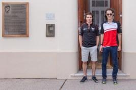 Juan Manuel Fangio was born in this house JUne 24, 1911 @FIAFormulaE