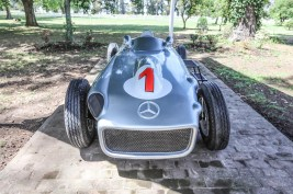 Juan Manuel Fangio's Mercedes @FIAFormulaE