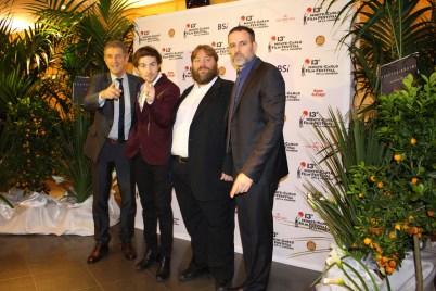Ezio Greggio, Francesco Sole, Teo Teocoli and Fausto Brizzi @CelinaLafuenteDeLavotha