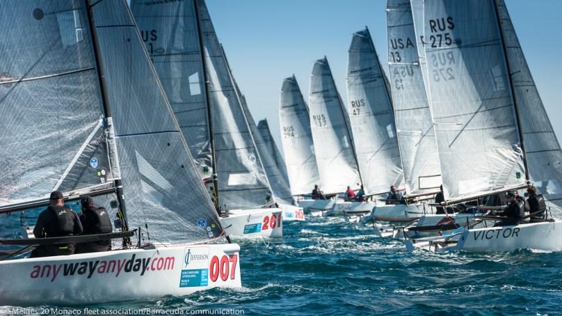 Melges 20's Act V Monaco Sportsboat Winter Series 2016@Marina Semenova
