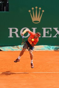 Spaniard David Ferrer at the Monte-Carlo Rolex Masters 2015 @CelinaLafuenteDeLavotha