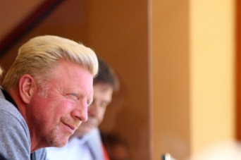 Former tennis player turned coach Boris Becker @CelinaLafuenteDeLavothaJPG
