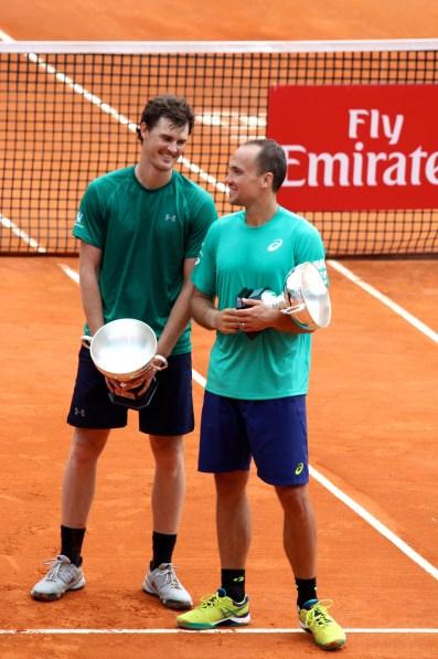 Jamie Murray (GBR) and Bruno Soares (BRA) lost to Herbert:Mahut in Monte-Carlo Rolex Masters @CelinaLafuenteDeLavotha