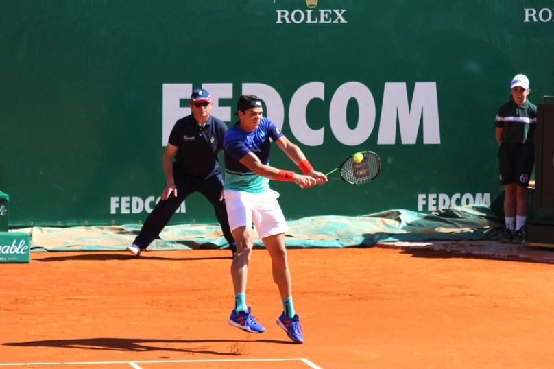 Milos Raonic defeated Italian Marco Cecchinato passing to next round @CelinaLafuenteDeLavotha