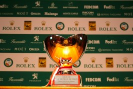 The coveted Singles Prize of the Monte-Carlo Rolex Masters 2016 @CelinaLafuenteDeLavotha